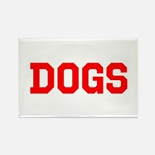DOGS Rectangle Magnet