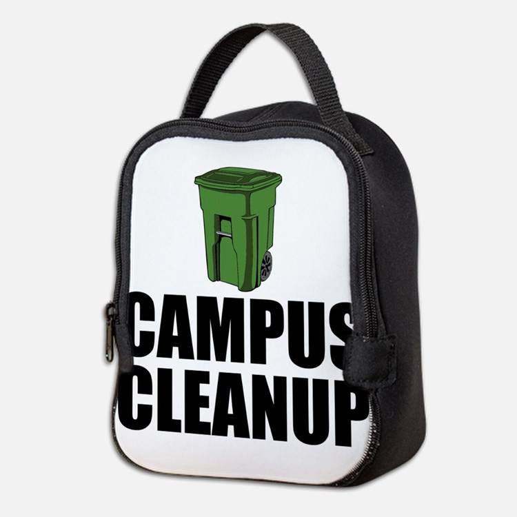 Campus Cleanup Neoprene Lunch Bag