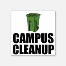 Campus Cleanup Sticker