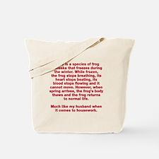 Species of frog Tote Bag