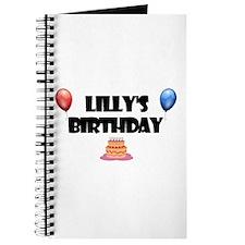 Lilly's Birthday Journal
