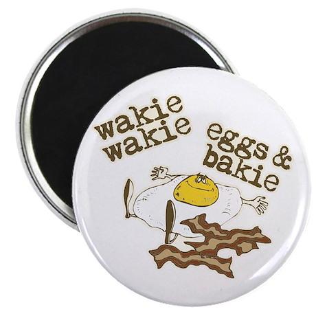 """Wakie Wakie Eggs & Bakie 2.25"""" Magnet (100 pack)"""