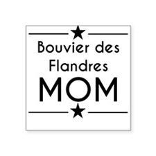 Bouvier des Flandres Mom Sticker