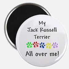 Jack Russell Walks Magnet