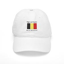 Belgian and Gorgeous Baseball Cap