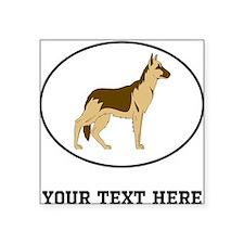 Custom German Shepherd Sticker