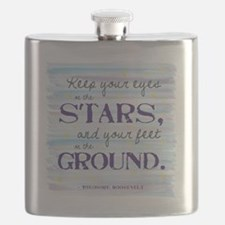 Keep Your Eyes On the Stars Flask