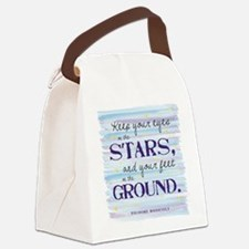 Keep Your Eyes On the Stars Canvas Lunch Bag