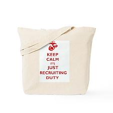 USMC Recruiting Duty  Tote Bag