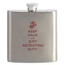 USMC Recruiting Duty Flask