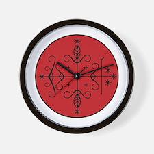 Papa Legba Veve Wall Clock