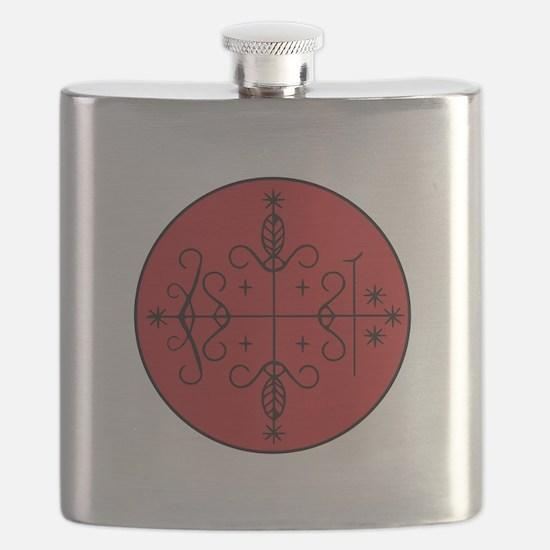 Papa Legba Veve Flask