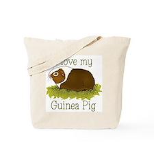 I Love my Guinea Pig Tote Bag