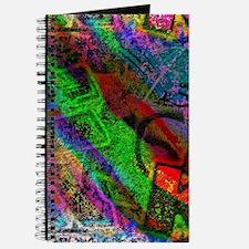Colorful allover Graffiti Journal