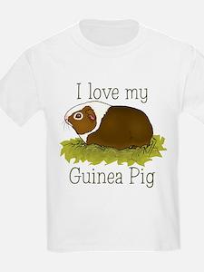 I Love my Guinea Pig Kids T-Shirt