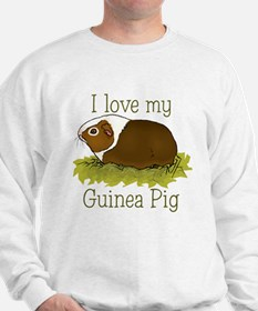 I Love my Guinea Pig Sweatshirt