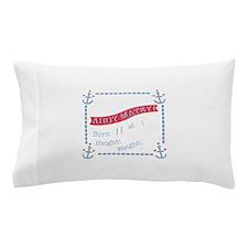 Anchor Announcement Pillow Case