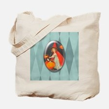 TLK002 Halloween Witch Tote Bag