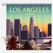 Downtown Los Angeles, CA Shower Curtain