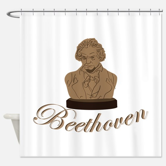 Beeethoven Shower Curtain