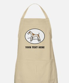 Custom Wire Fox Terrier Apron