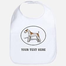 Custom Wire Fox Terrier Bib