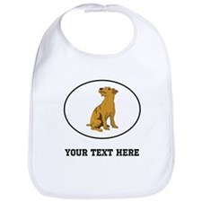 Custom Wheaten Terrier Bib