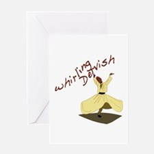 Whirling Dervish Greeting Cards
