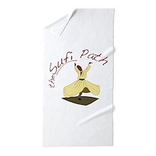 Sufi Path Beach Towel