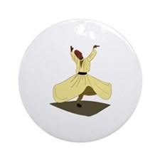 Whirling Dervish Ornament (Round)