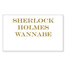 Sherlock Holmes Wannabe Decal