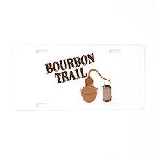 Bourbon Trail Aluminum License Plate