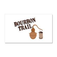 Bourbon Trail Car Magnet 20 x 12