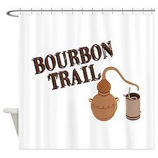 Bourbon Trail Shower Curtain