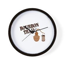 Bourbon Trail Wall Clock