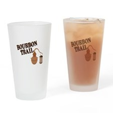 Bourbon Trail Drinking Glass