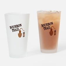 Bourbon Trail Drinking Glass