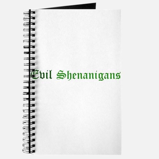 Evil Shenanigans Journal