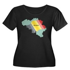 Belgium Flag and Country T