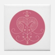 Erzulie Veve Tile Coaster