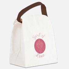 Love Spirit Canvas Lunch Bag