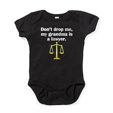 My Grandma Is A Lawyer Baby Bodysuit
