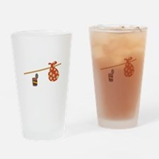 Bindle & Beans Drinking Glass