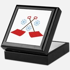 Snowflake Shovels Keepsake Box