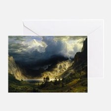 Bierstadt,Mt Rosalie Greeting Card