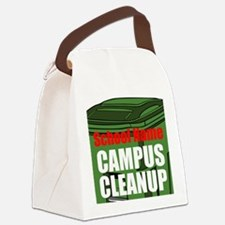 Campus Cleanup Canvas Lunch Bag