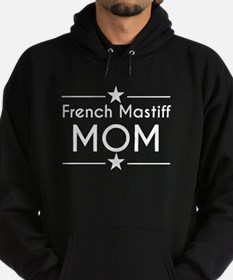 French Mastiff Mom Hoodie