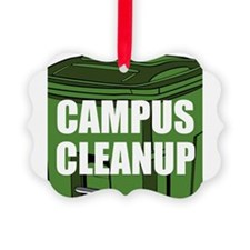 Campus Cleanup Ornament