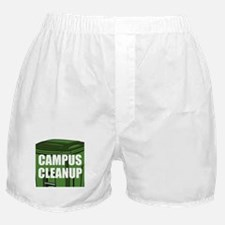 Campus Cleanup Boxer Shorts