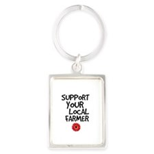 Support Local Farmer Keychains